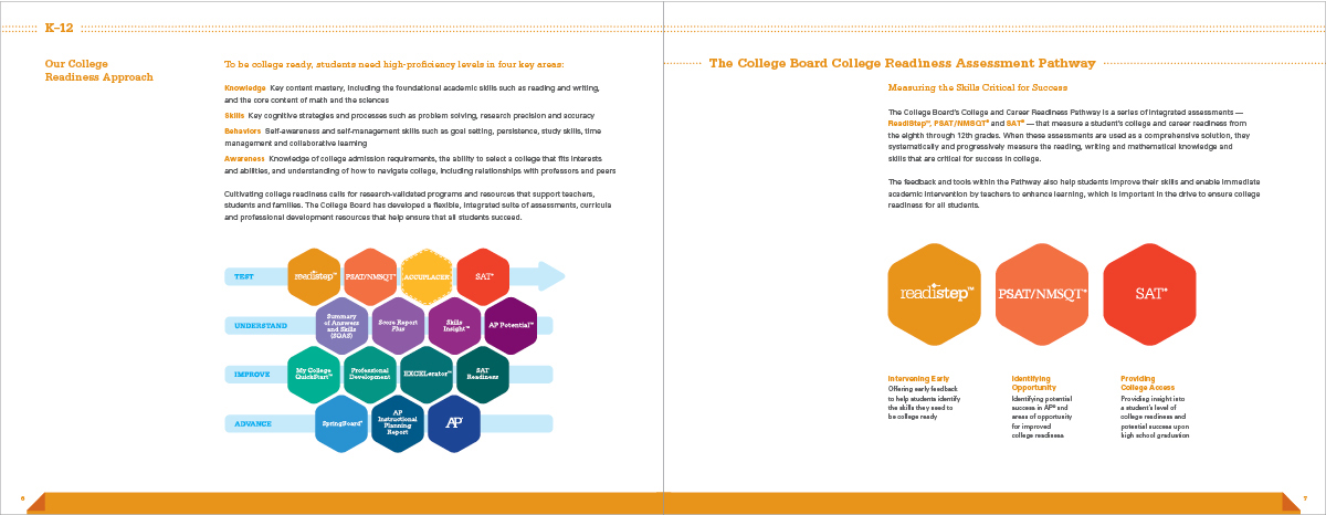College Board brochure